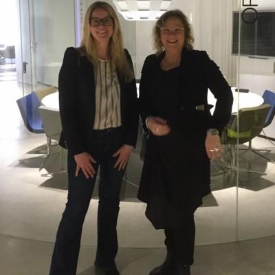 Jennie och Carina Konferensidé